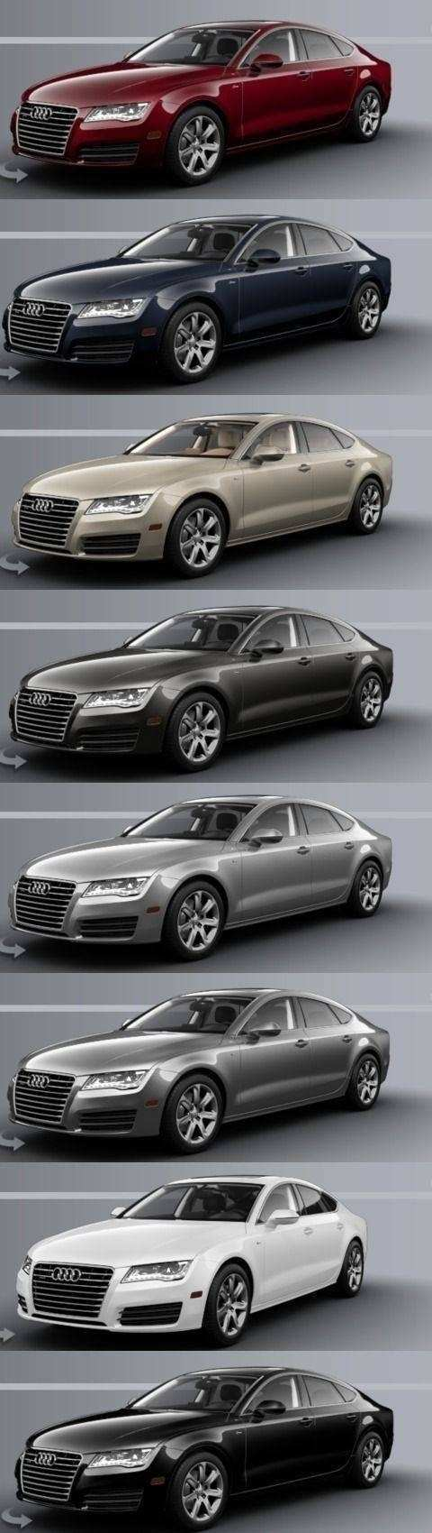 31 All New 2019 Audi A7 Colors Redesign And Concept