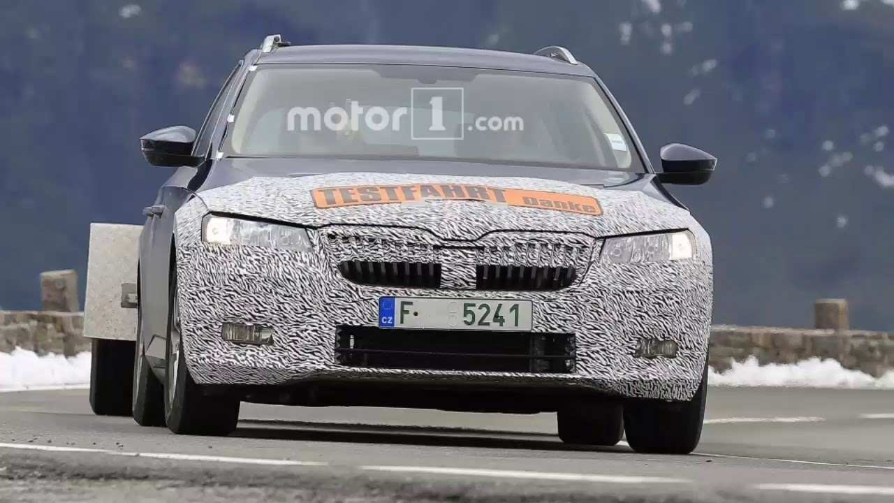31 All New Spy Shots Skoda Superb Performance And New Engine