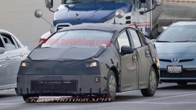 31 All New Spy Shots Toyota Prius Images