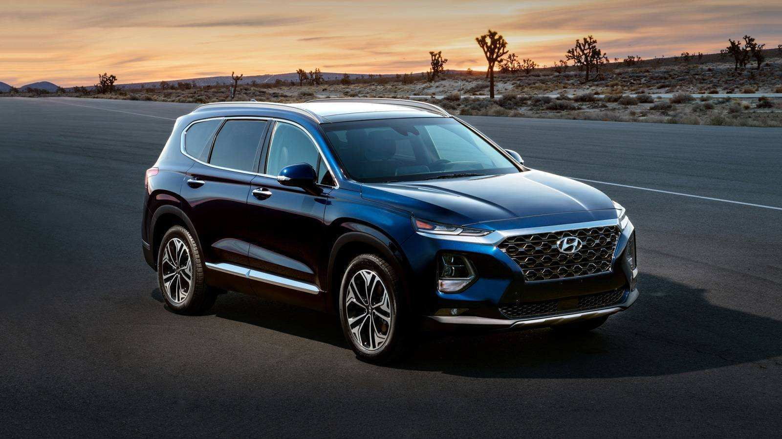 31 New 2019 Hyundai Santa Fe Spesification