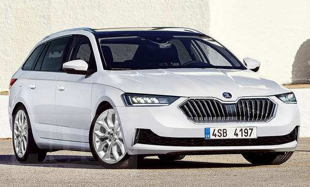 31 New 2020 New Skoda Superb Concept