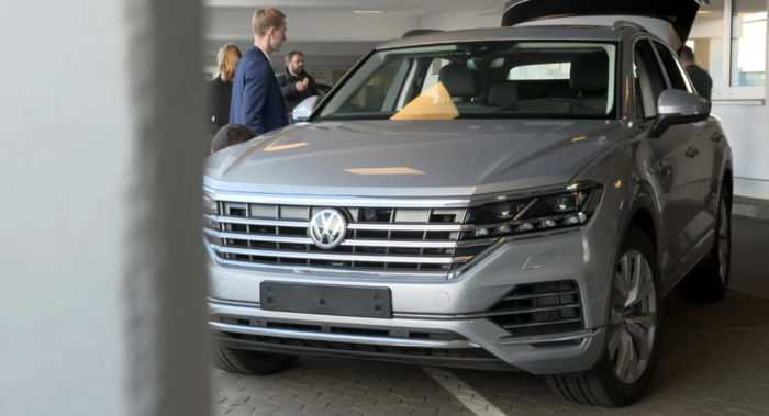 31 The 2019 Vw Touareg Tdi Exterior