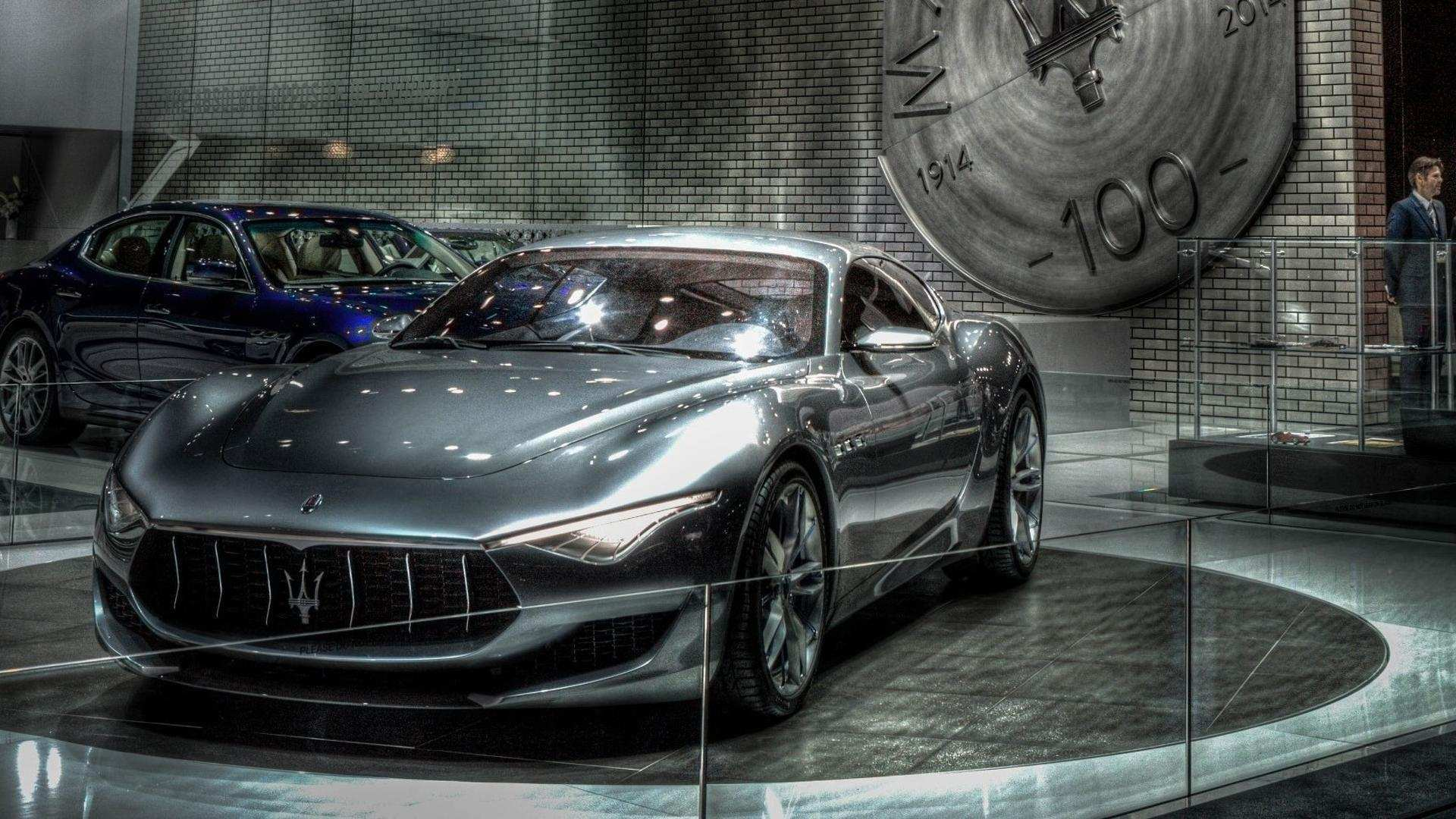 31 The 2020 Maserati Alfieris Model