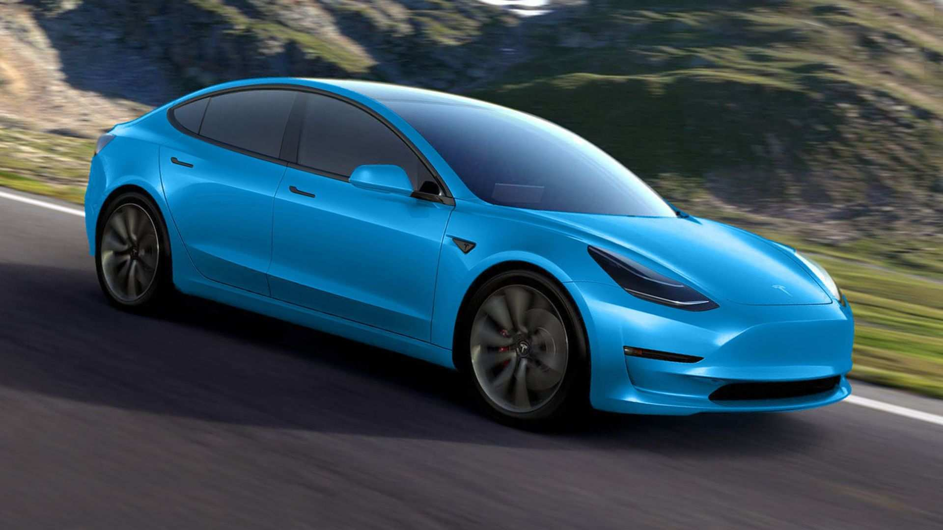 31 The 2020 Tesla 3 Picture