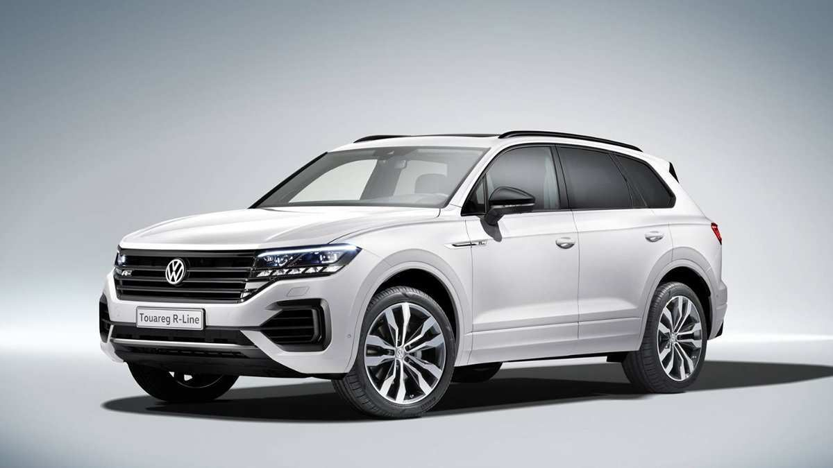 31 The 2020 Volkswagen Touareg Pictures
