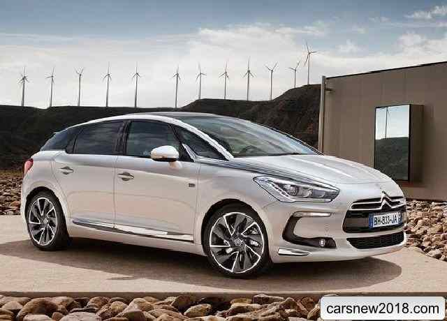 32 A 2019 Citroen DS5 New Concept