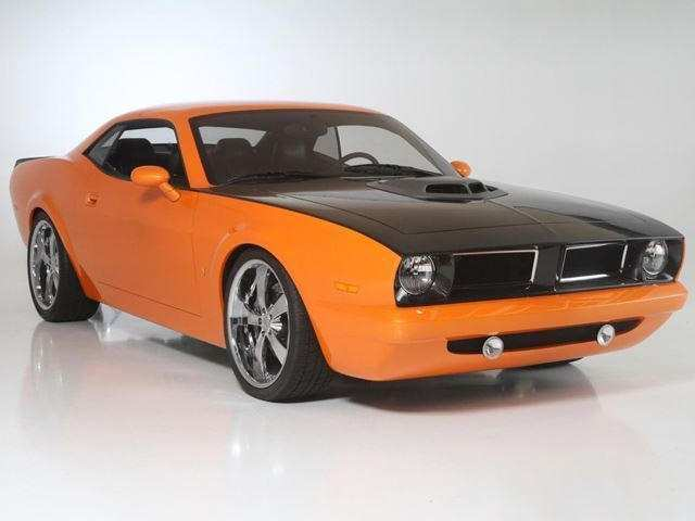 32 A 2019 Plymouth Barracuda Exterior