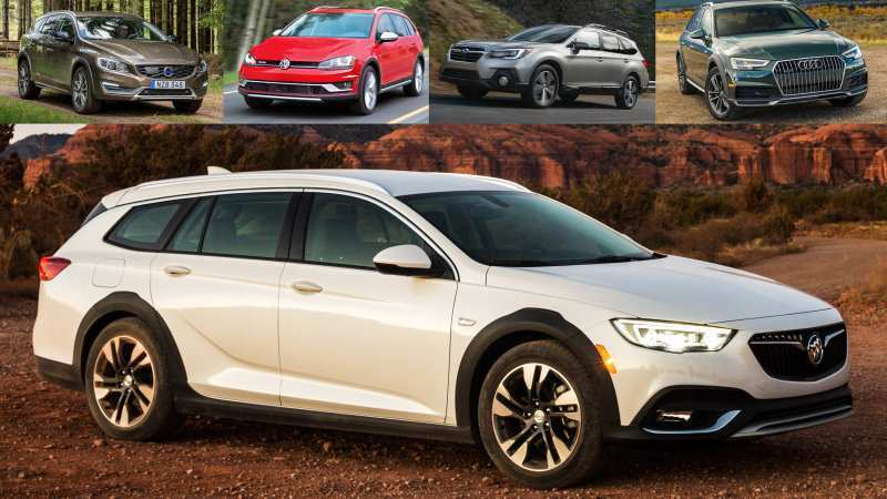 32 A 2020 Buick Regal Wagon Overview