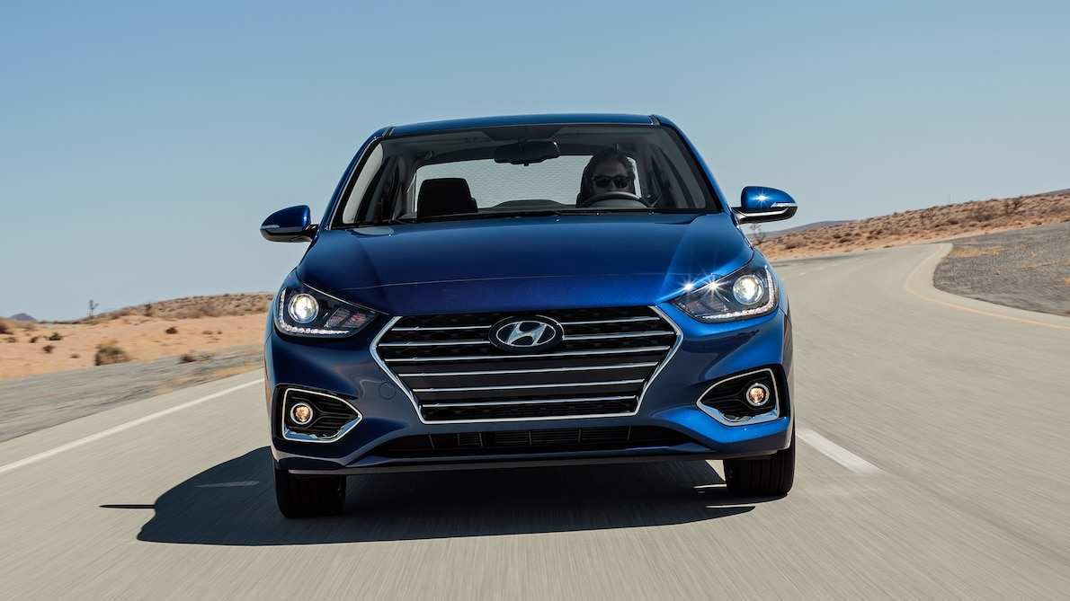 32 A 2020 Hyundai Accent Exterior And Interior