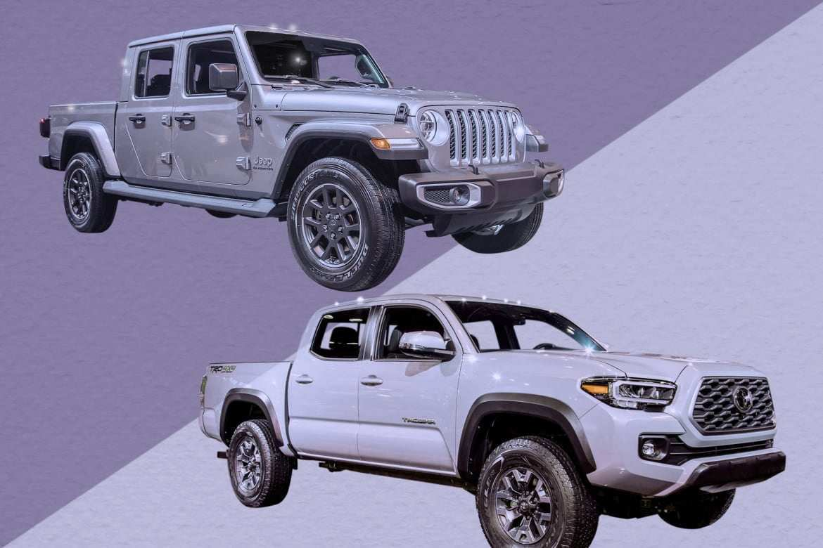 32 A 2020 Jeep Gladiator Vs Toyota Tacoma Reviews