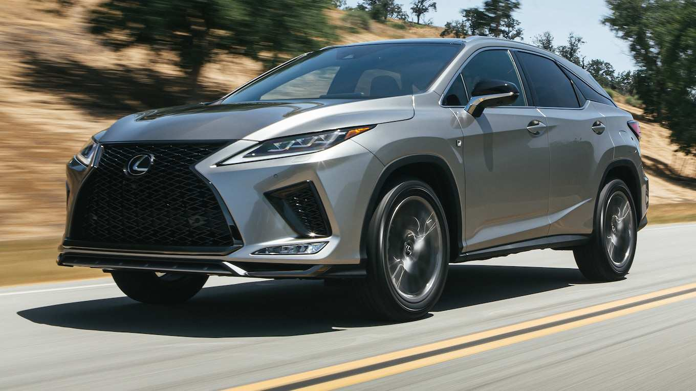 32 A 2020 Lexus Rx 350 F Sport Suv Redesign And Concept