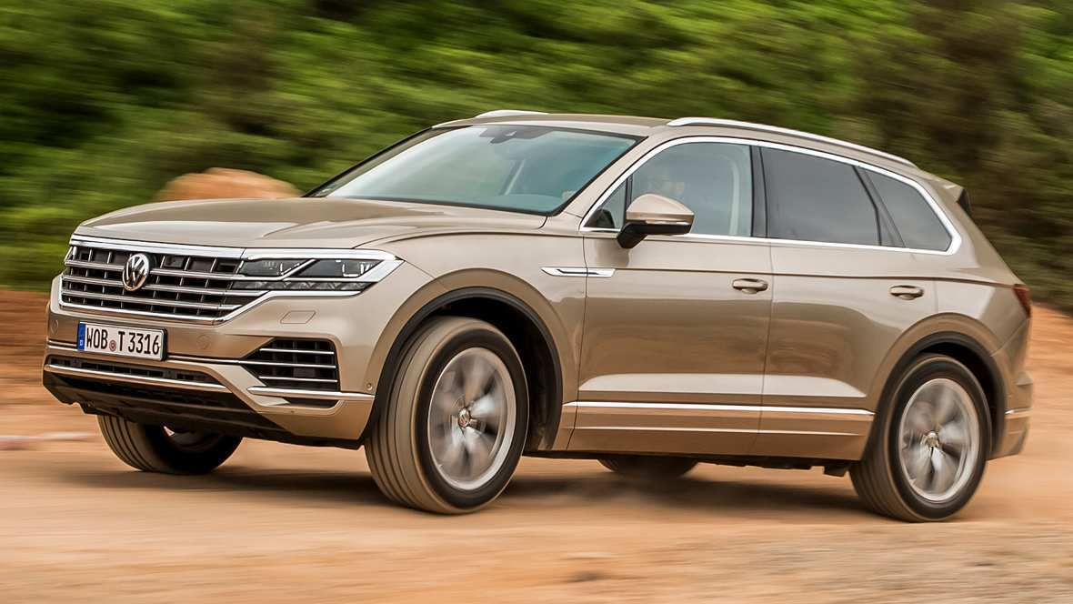 32 A Touareg Vw 2019 Exterior And Interior