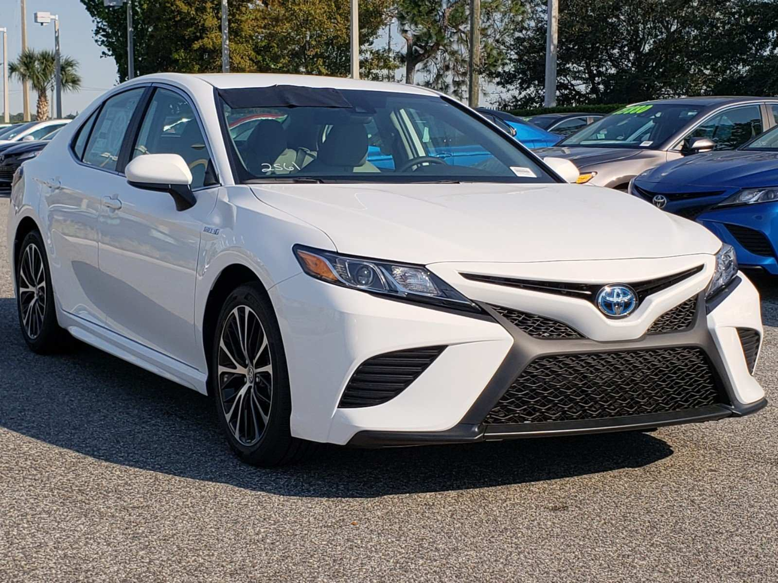 32 All New 2019 Toyota Camry Se Hybrid New Concept