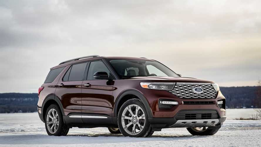 32 All New Ford Usa Explorer 2020 Model