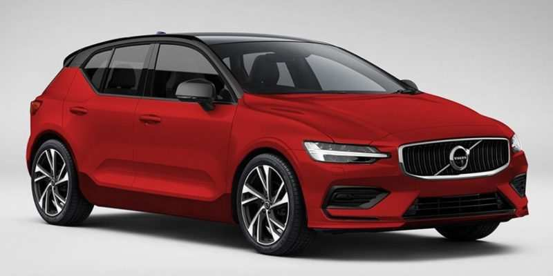 32 All New Volvo New V40 2020 Interior