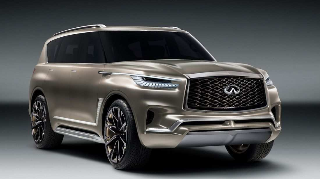 32 Best 2019 Infiniti Qx80 Monograph Wallpaper