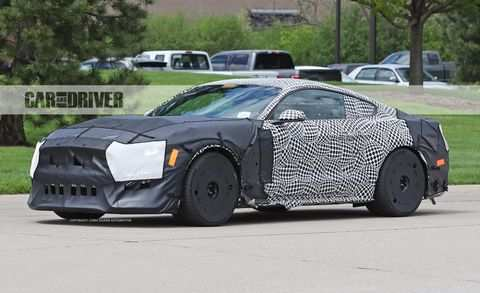 32 The 2019 The Spy Shots Ford Mustang Svt Gt 500 Price