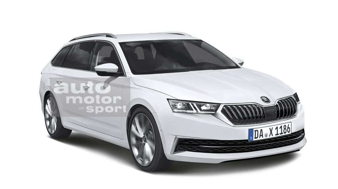 32 The 2020 New Skoda Superb Exterior