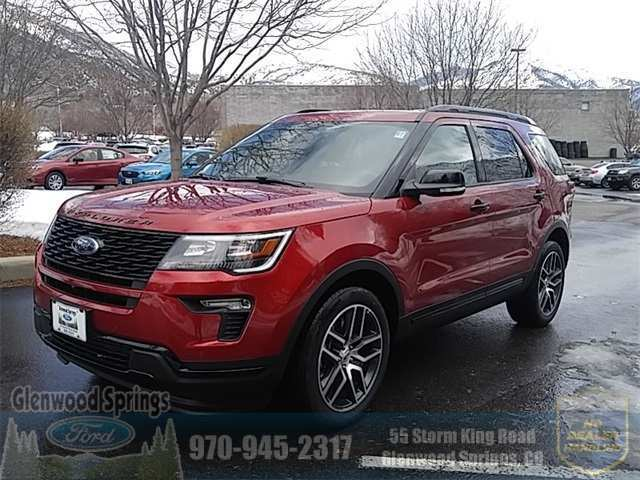 32 The Best 2019 Ford Explorer Sports Exterior And Interior