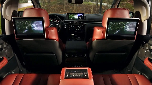 32 The Lexus Lx 2019 Interior Review And Release Date