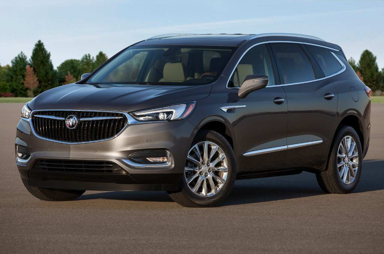 33 All New 2019 Buick Enclave Spy Photos Performance And New Engine