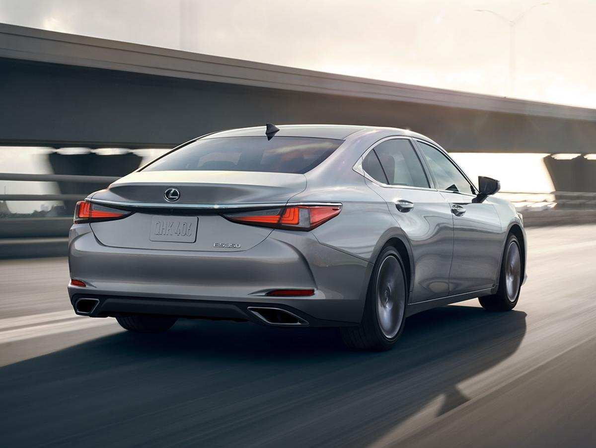 33 All New 2019 Lexus ES First Drive