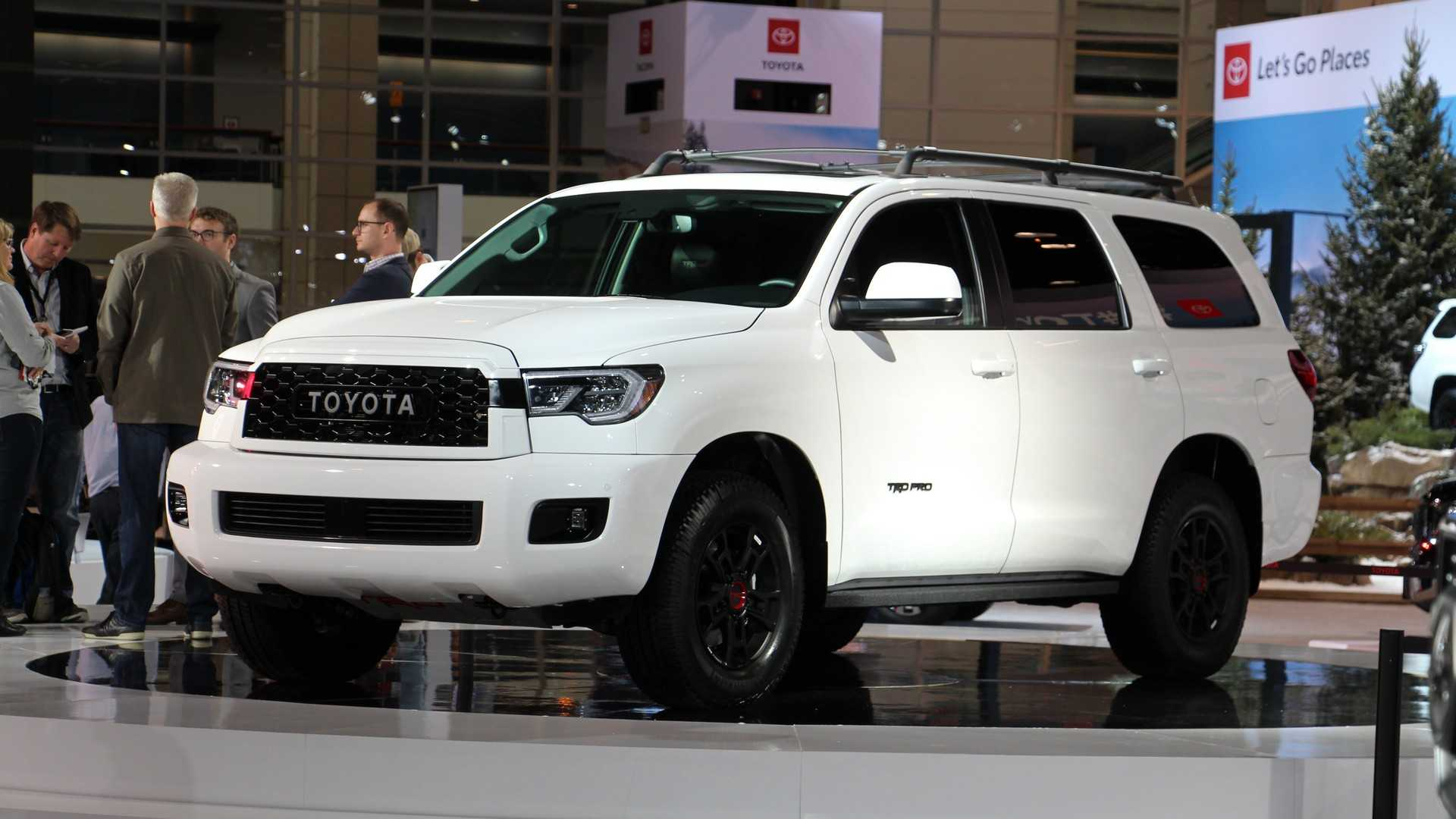 33 All New 2020 Toyota Sequoias Overview
