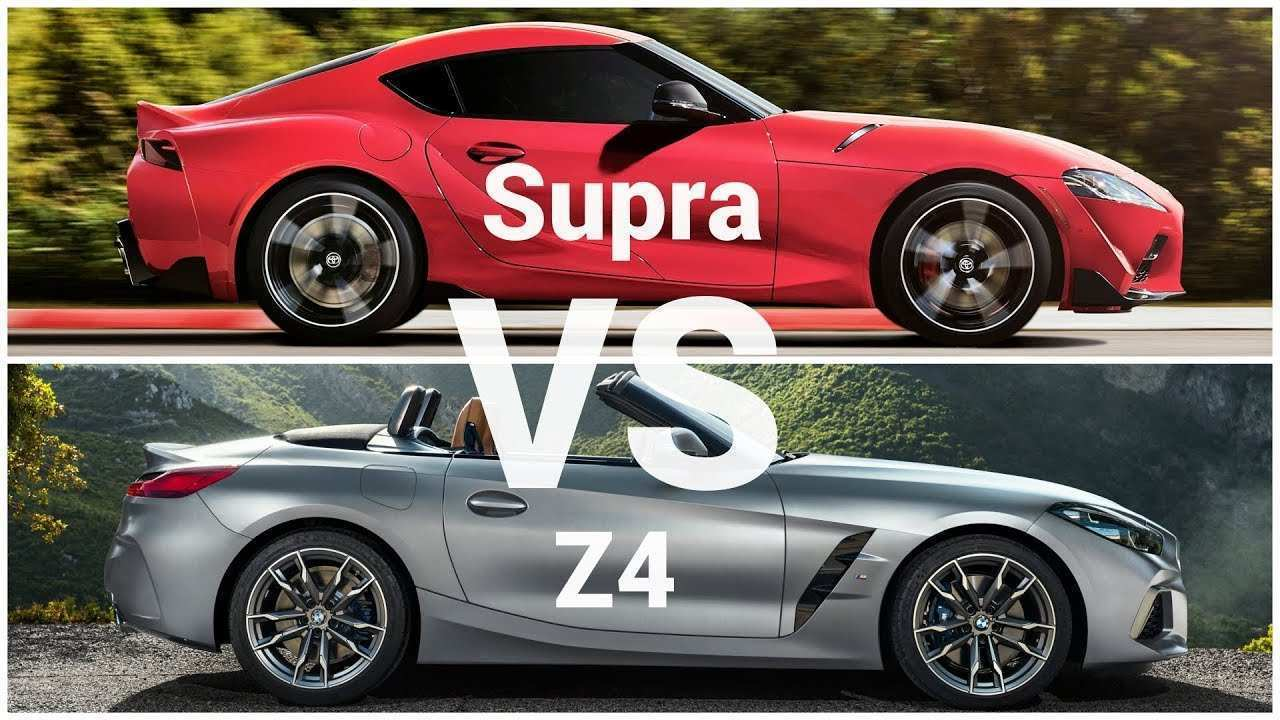 33 All New 2020 Toyota Supra Vs BMW Z4 First Drive