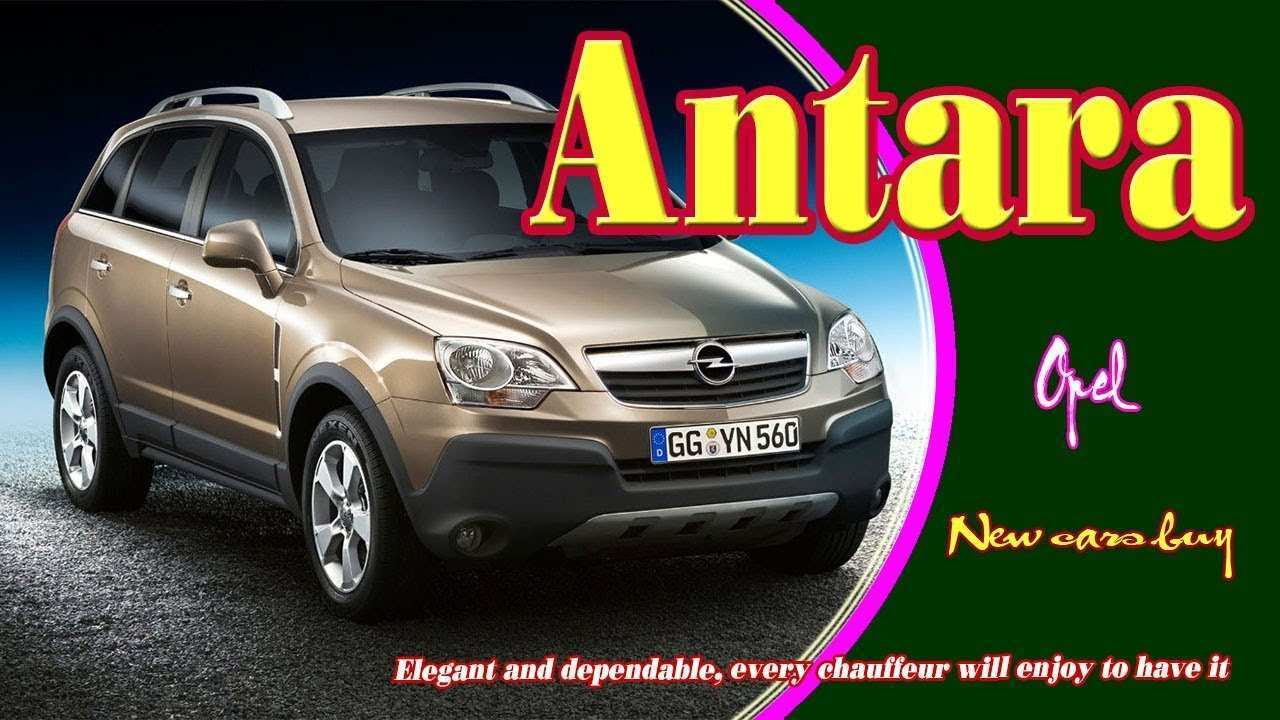 33 Best 2019 Opel Antara Release Date And Concept