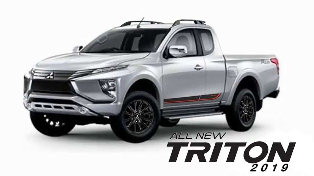 33 New 2019 Mitsubishi Triton Perfect Outdoor Review And Release Date