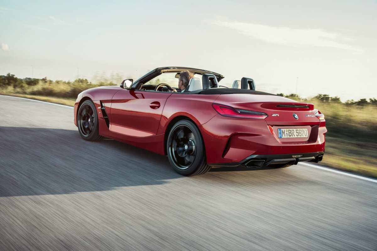 33 The 2019 BMW Z4 M Roadster Speed Test