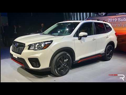 33 The Best 2019 Subaru Forester Sport Speed Test