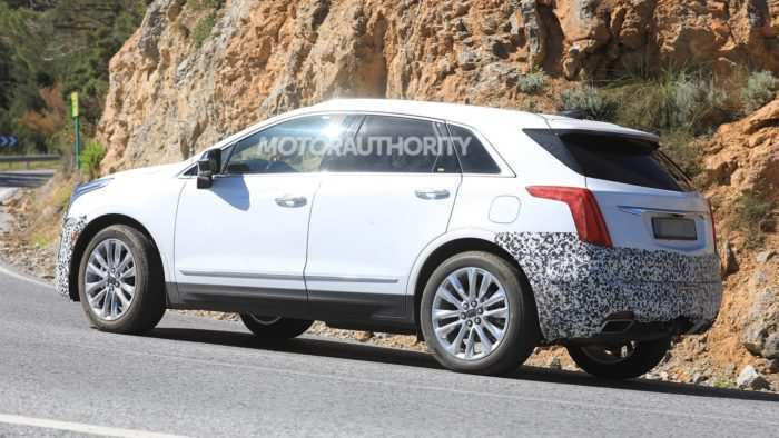 33 The Spy Shots Cadillac Xt5 Configurations