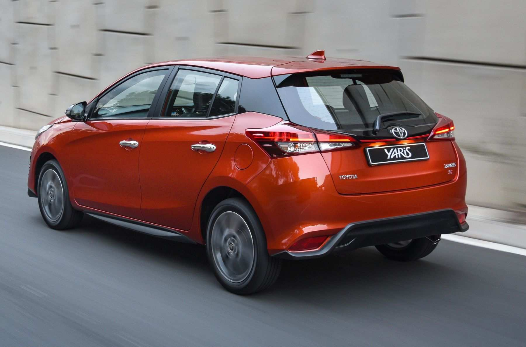 33 The Toyota Yaris 2019 Europe Pictures