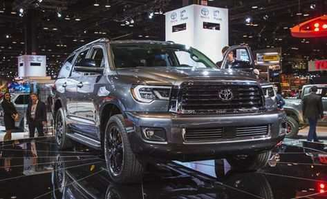 34 A 2019 Toyota Sequoia Spy Photos First Drive