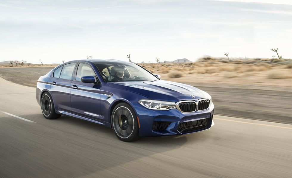 34 A 2020 BMW M5 Get New Engine System Speed Test