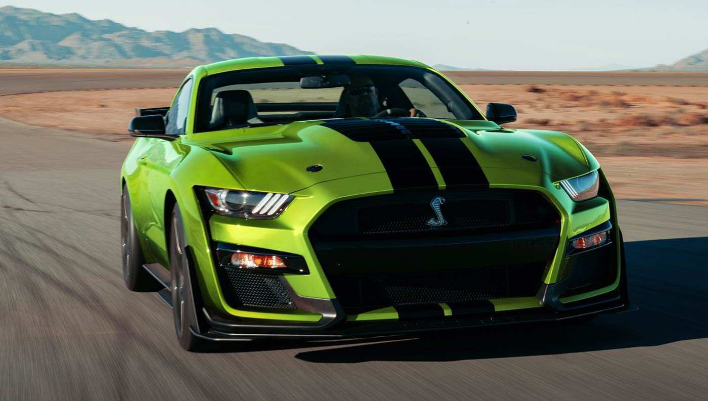 34 A 2020 Ford Mustang Specs