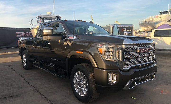 34 A 2020 GMC Sierra Performance And New Engine
