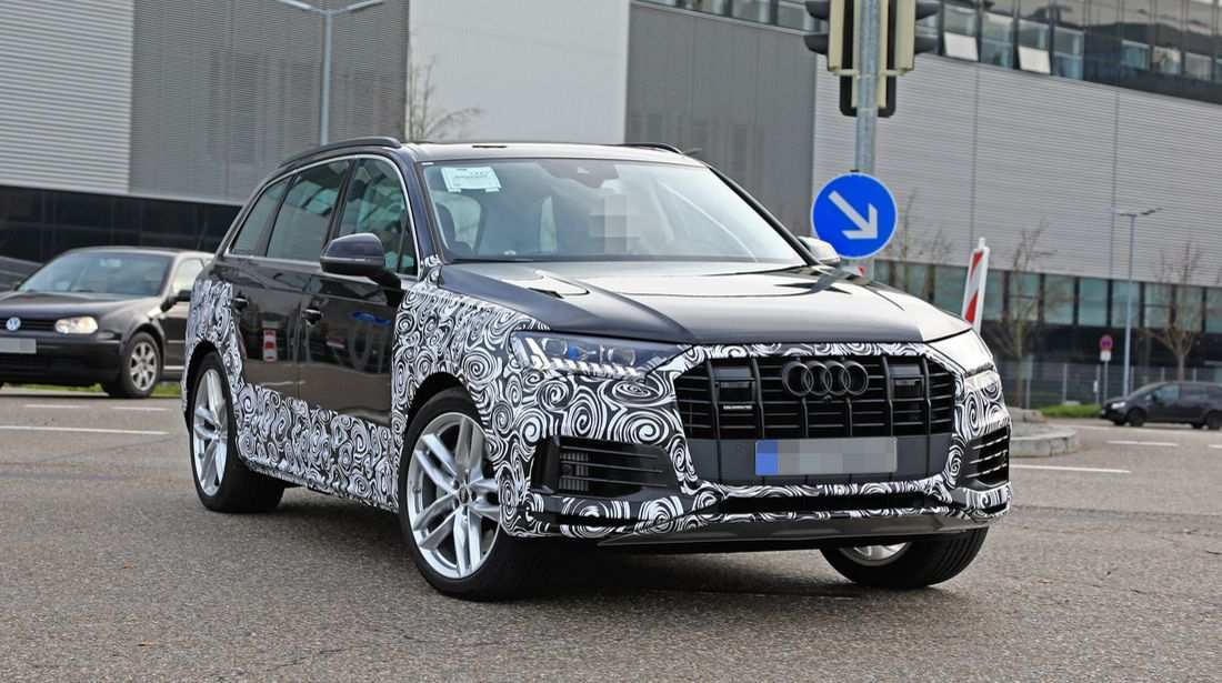 34 A Audi Q7 2020 Facelift Overview