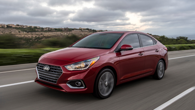 34 A Hyundai Accent Hatchback 2020 Interior