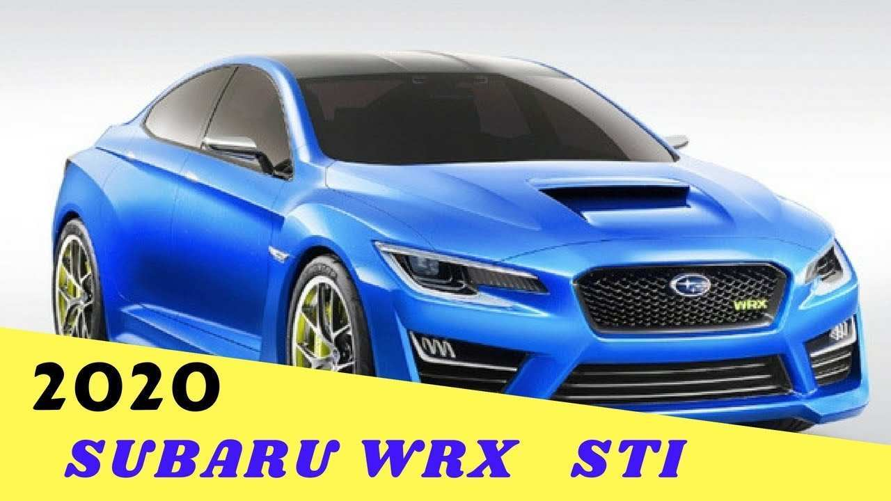 34 All New 2020 Subaru Brz Sti Turbo Research New