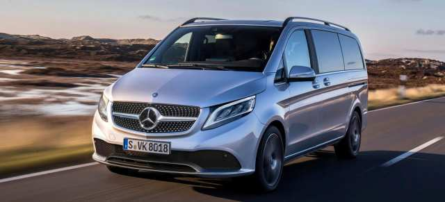 34 All New Mercedes V Klasse 2019 Overview