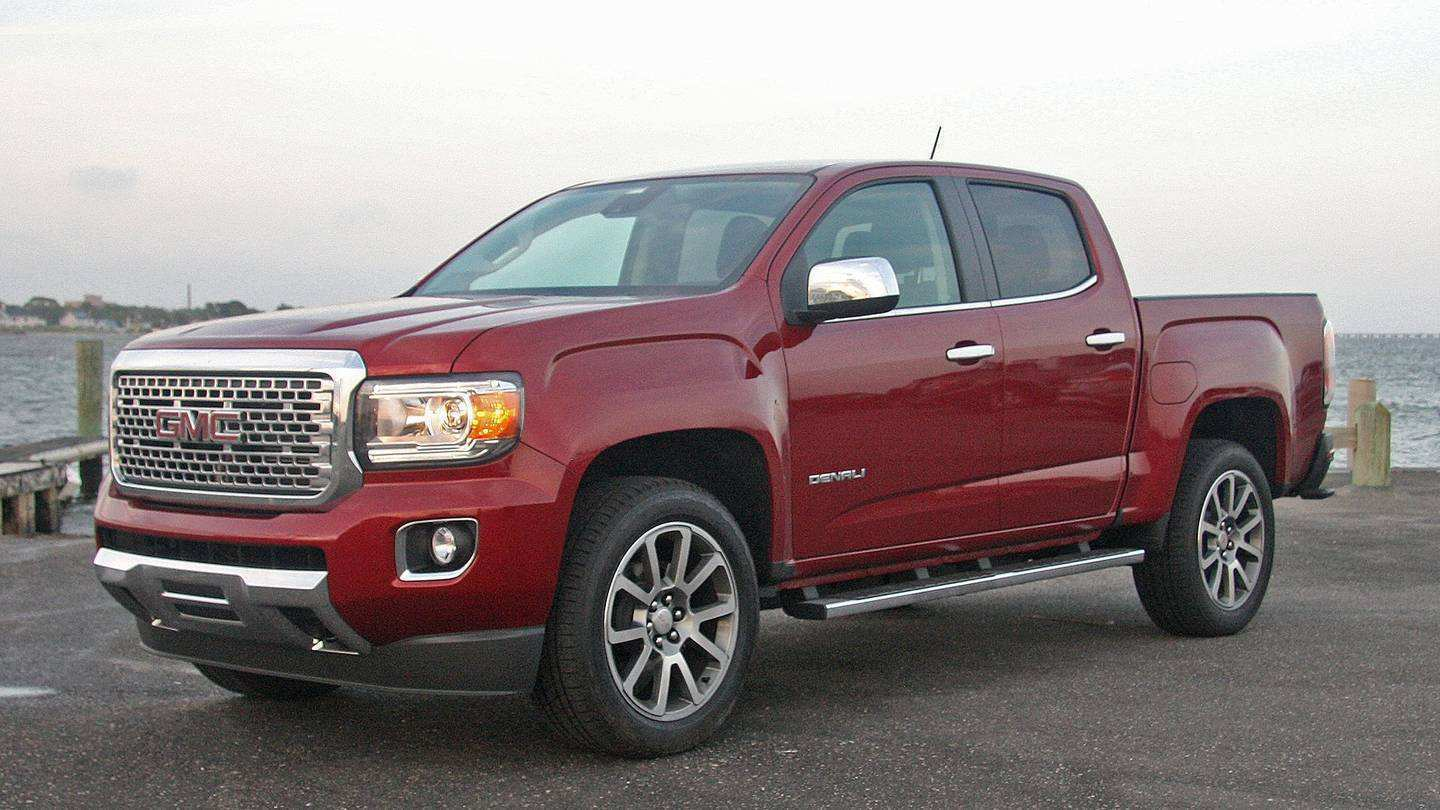 34 Best 2020 GMC Canyon Zr2 Redesign