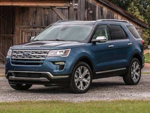 34 New 2019 The Ford Explorer Redesign And Concept