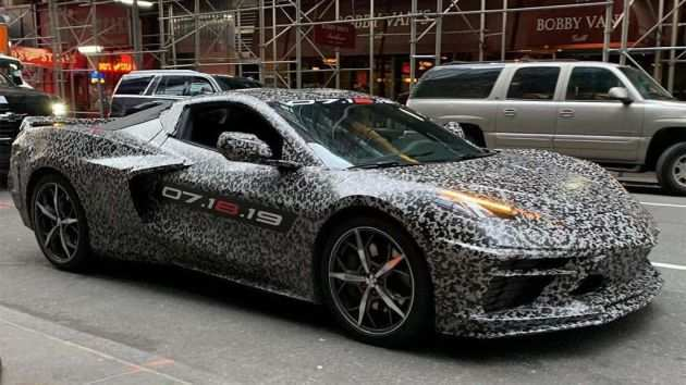 34 New 2020 Chevrolet Corvette Images Exterior
