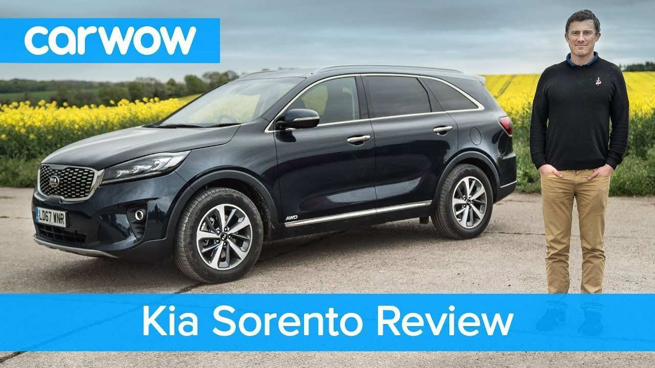 34 New Kia Sorento 2019 Video New Model And Performance