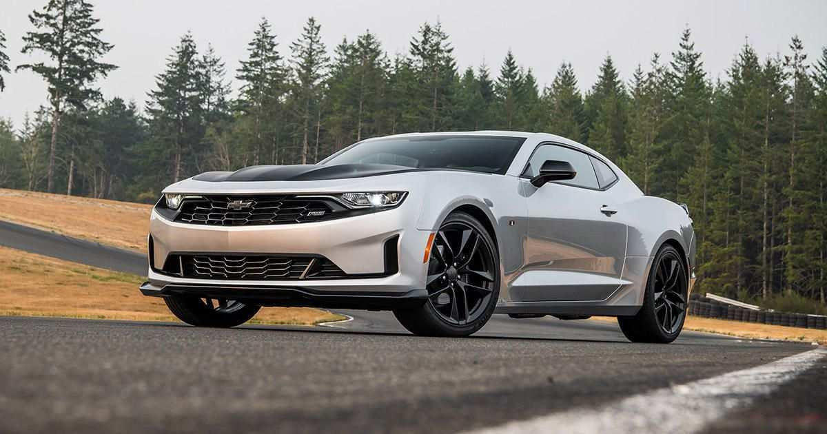 34 The 2019 Chevrolet Camaro Engine