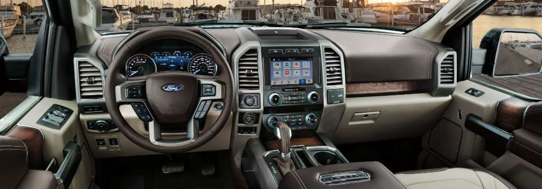34 The 2019 Ford F 150 Interior