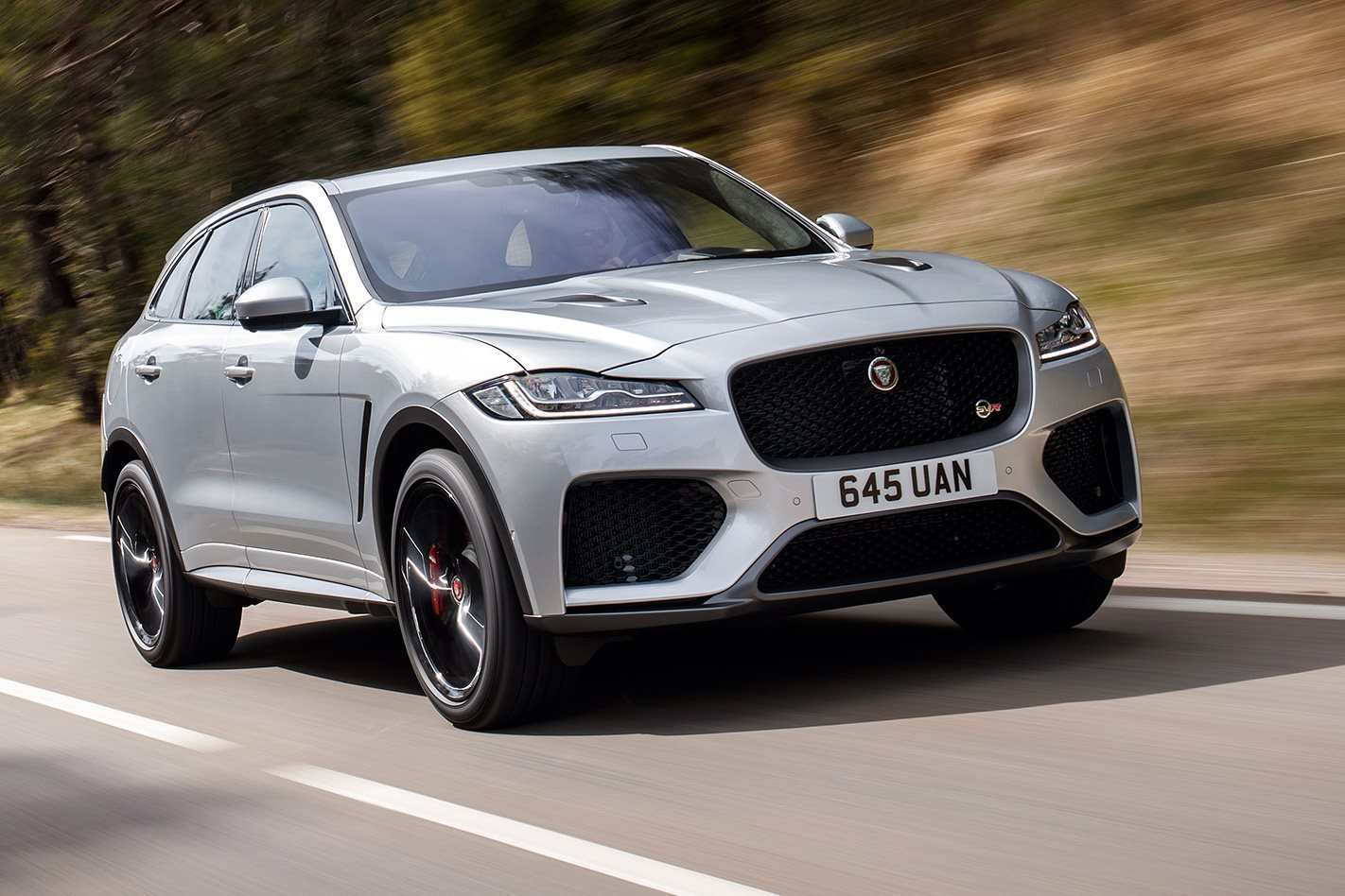 34 The 2019 Jaguar F Pace Svr 2 Spy Shoot