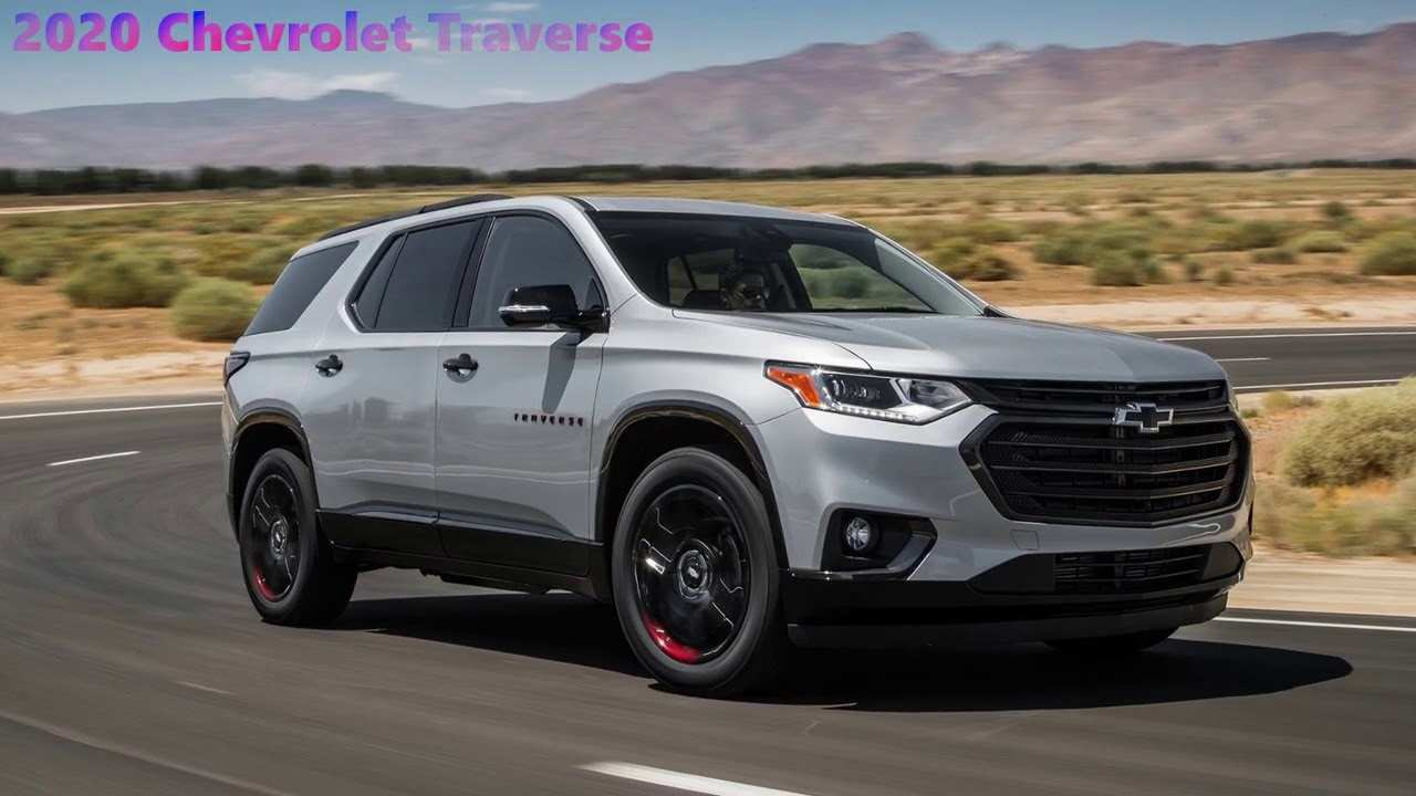 34 The 2020 Chevy Traverse Price And Review
